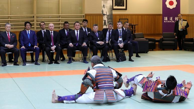 Bloody Elbow: разногласия с Японией Россия решает дипломатией «на татами»