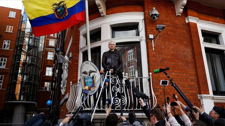 WSJ: конгрессмен предложил помиловать Ассанжа, если он «оправдает» Москву