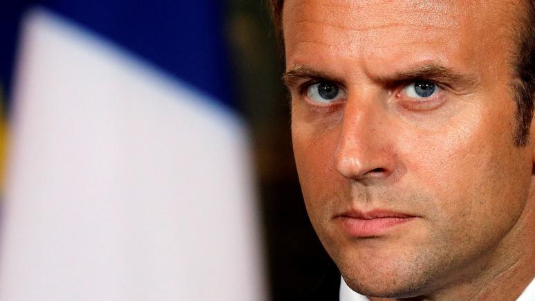 Bloomberg: Макрон намерен напомнить миру, что Франция — тоже великая
