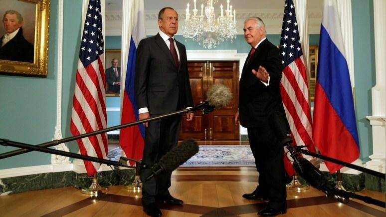RFE: перед Генассамблеей ООН Тиллерсон и Лавров обсудили Сирию и Украину