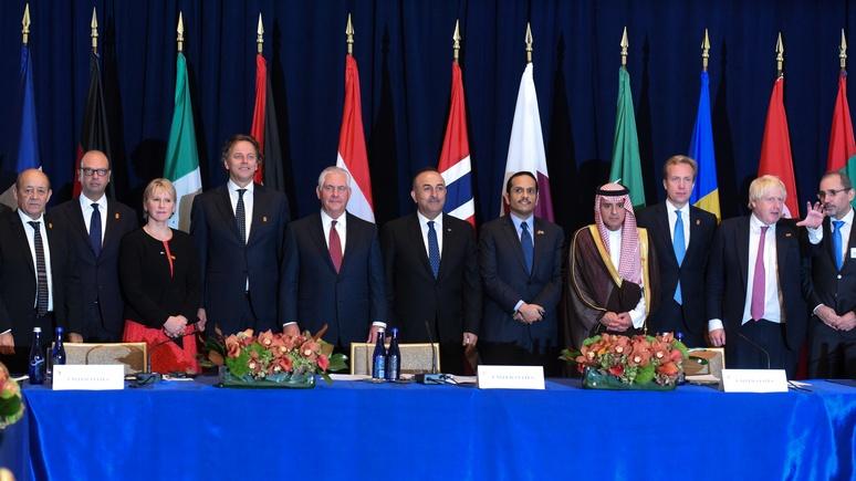 Джонсон: пока у власти Асад, «Друзья Сирии» ей не помощники