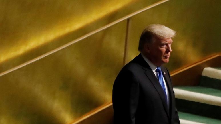 Spectator: в ООН Трамп предстал в образе воинственного неоконсерватора