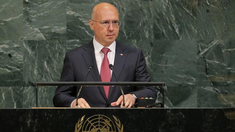 RFE: премьер Молдавии призвал ООН поддержать вывод российских военных из Приднестровья