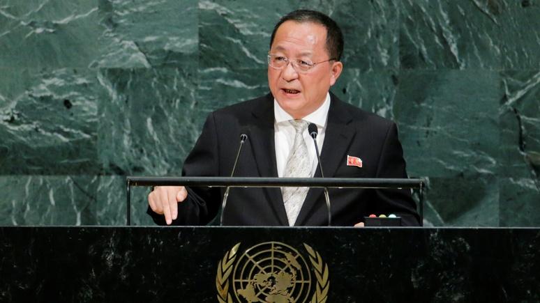 Washington Post: глава МИД КНДР заявил о «неизбежности» удара по США