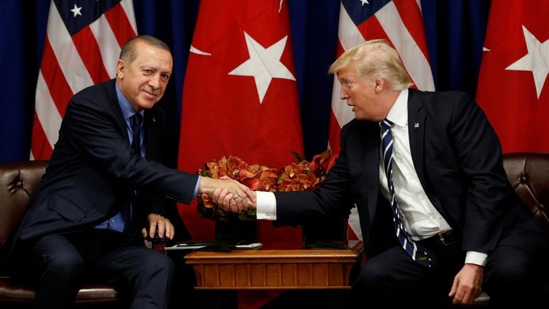 Washington Post: дружбе Трампа и Эрдогана грозят российские комплексы
