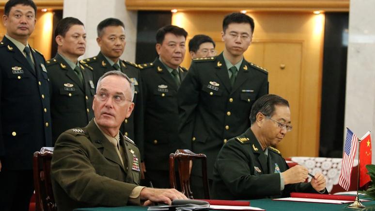 CNN: американский генерал увидел в Китае 2025 года главного врага США