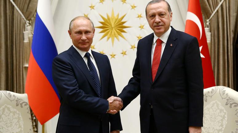VOA: в Анкаре Путин и Эрдоган нашли общий язык по сирийскому вопросу