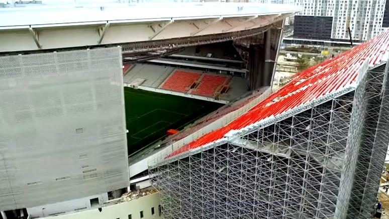 Der Standard: архитекторы стадиона в Екатеринбурге проявили «искусство импровизации»