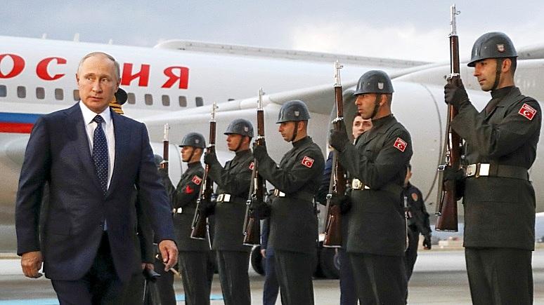Bloomberg: Ближний Восток увидел в Путине нового «хозяина»