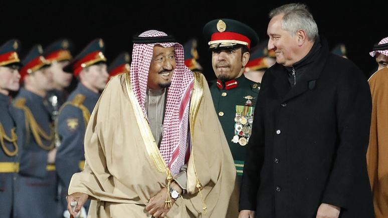 OLJ: визит саудовского короля в Москву изменит расстановку сил на Ближнем Востоке