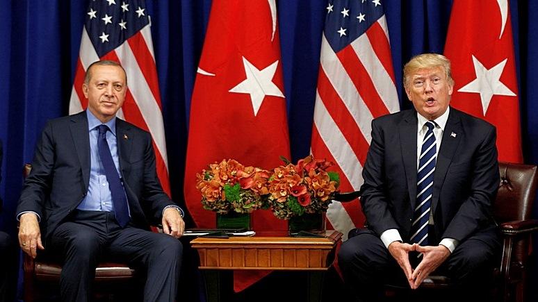 Bloomberg: США и Турция взаимно приостановили выдачу виз
