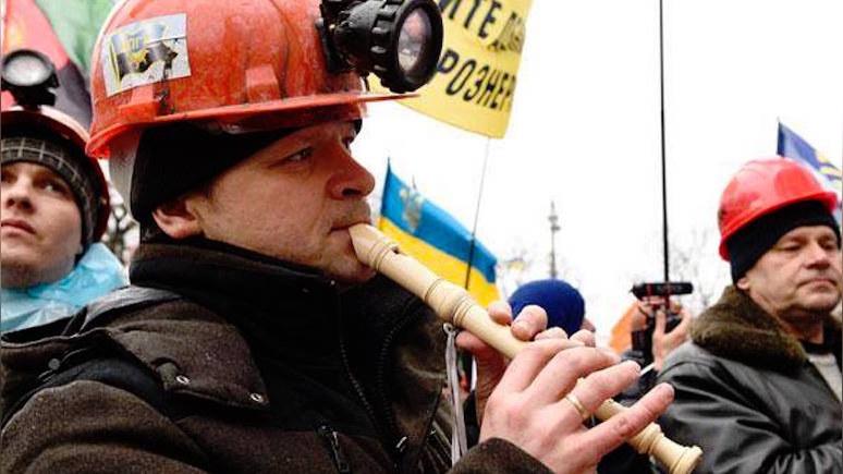 Onet: украинские шахтёры заблокировали трассу Киев — Варшава