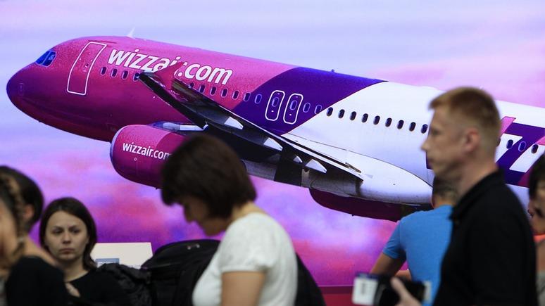 Обозреватель: журналист обиделся на венгерскую авиакомпанию из-за украинского языка