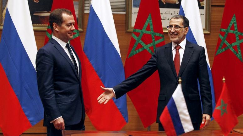 RFI: в турне по Северной Африке Медведев старался не обидеть ни Марокко, ни Алжир