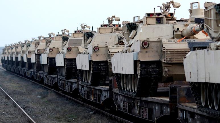 Freie Presse: почему американские танки колесят по Германии — немцам знать не положено