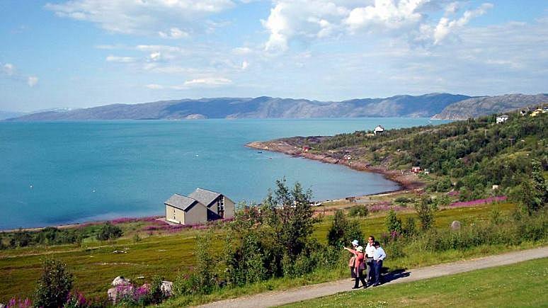 Itromsø: на севере Норвегии помнят о русских освободителях