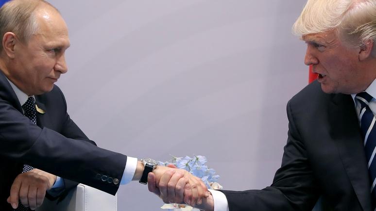 Der Spiegel: Трамп попал в Белый дом по милости Путина