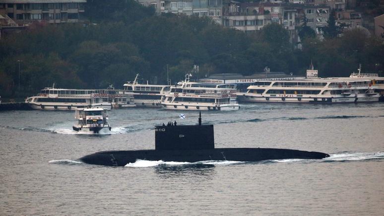 Daily Star: российская «субмарина-призрак» ударила по джихадистам и встревожила НАТО