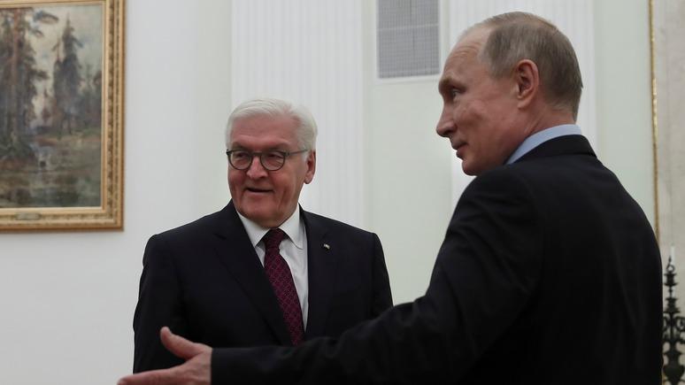 General-Anzeiger: ради диалога с Россией Штайнмайер в Москве «подменил» главу германского МИД