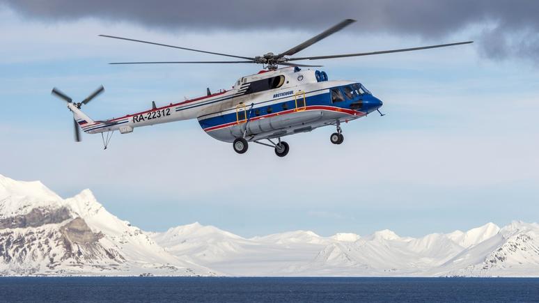 IBO: крушение вертолёта даёт России повод для расширения на Шпицбергене