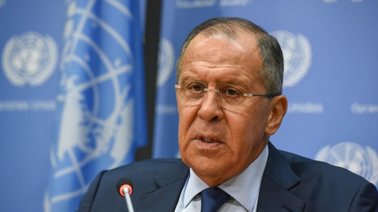 DS: Лавров назвал все обвинения о «российском вмешательстве» фантазиями без доказательств