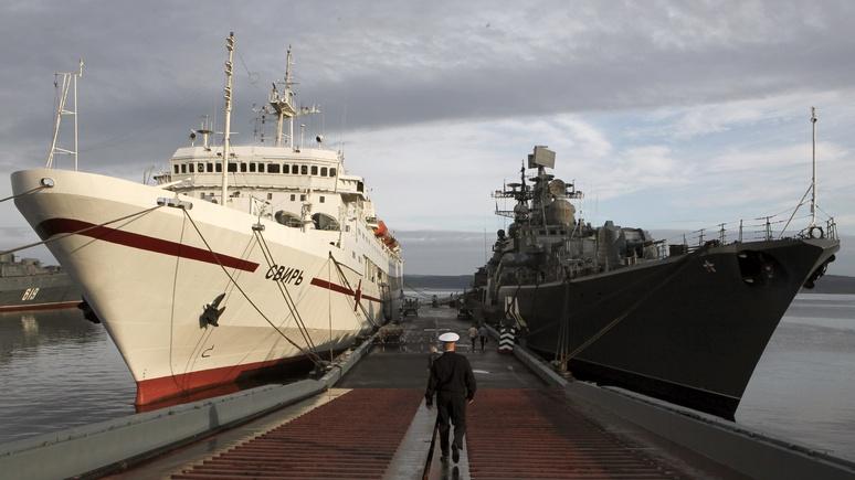 Independent Barents Observer: на Северном флоте Путин добился своего