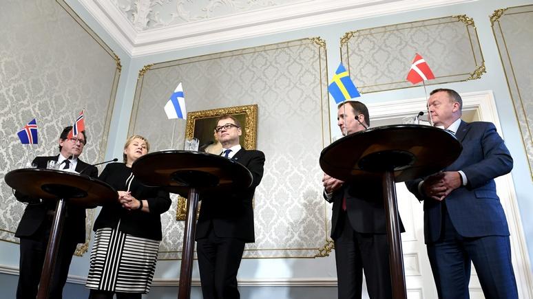 El País: страны Северного совета объединяет страх перед Россией