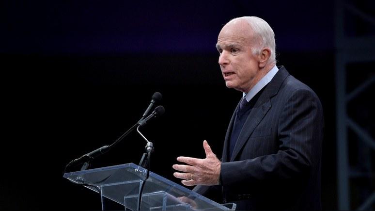 CNN: Маккейн отчитал Трампа за доверие «полковнику КГБ»