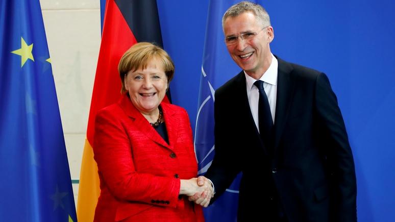 CM: НАТО подталкивает неведающую Европу к войне с Россией