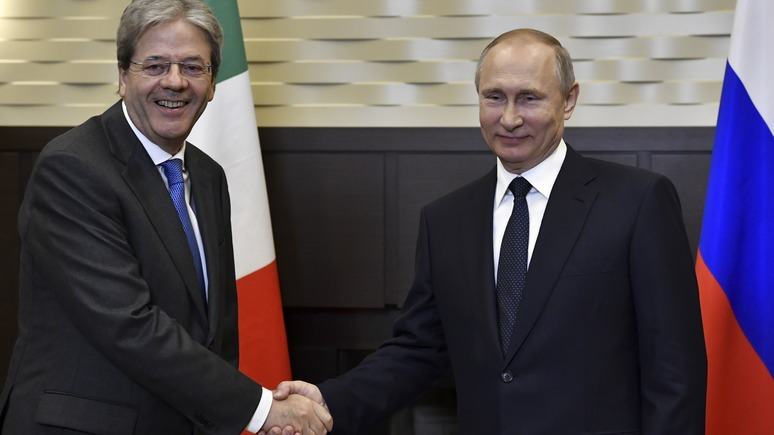 L'Indro: политика санкций ещё скажется на отношениях Италии и России