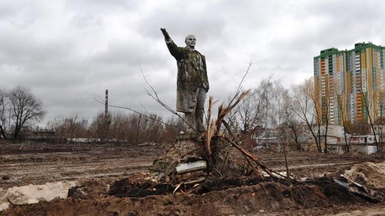 Корреспондент: в Киеве нашли последнего Ленина