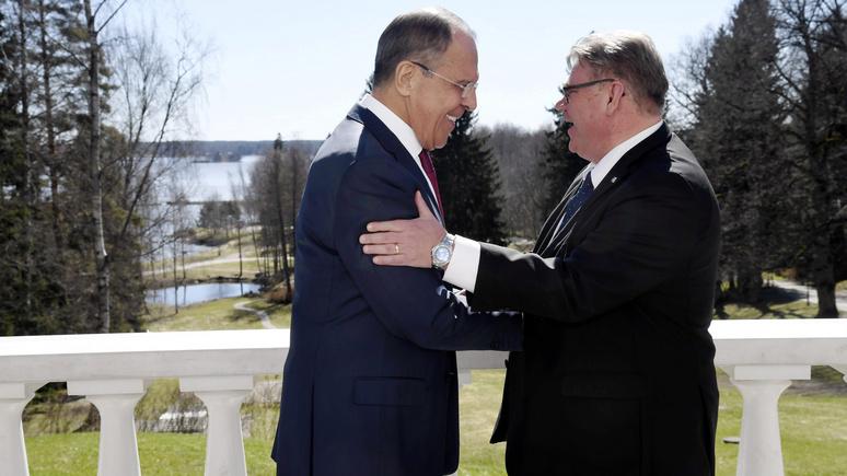 Глава МИД Финляндии: всегда приятно встречаться с dorogoy Sergey Lavrov