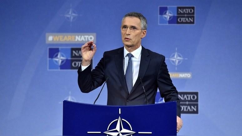 Столтенберг: войска НАТО пробудут у границ России столько, сколько нужно