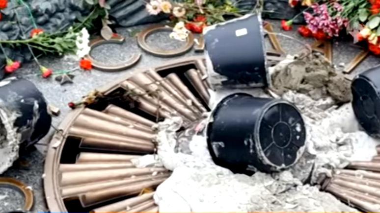 Вести: у Вечного огня в Киеве нашёлся защитник