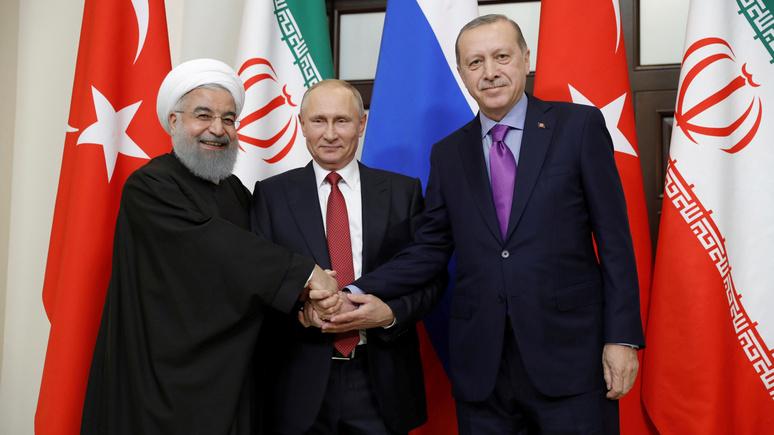Wall Street Journal: саммит в Сочи затмил переговоры в Женеве