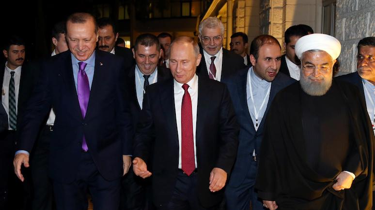 Salon: в Сирии Москва и её союзники бросили вызов «привычке США менять режимы»