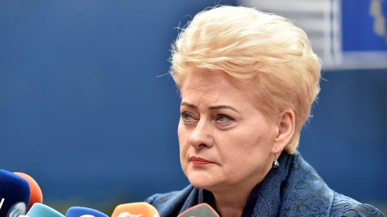 Литовский курьер: Грибаускайте подписала закон Магнитского