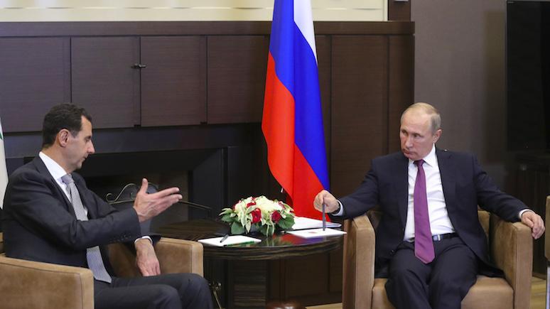 Rzeczpospolita: прошло два года — и все карты в Сирии на руках у Путина