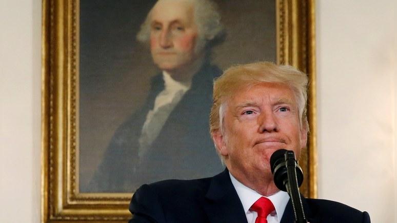 FT: Трамп отчитал Минюст за двойные стандарты в деле «жуликоватой» Клинтон