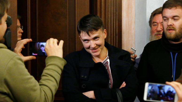 Обозреватель: Савченко назвала «евромайдан» госпереворотом