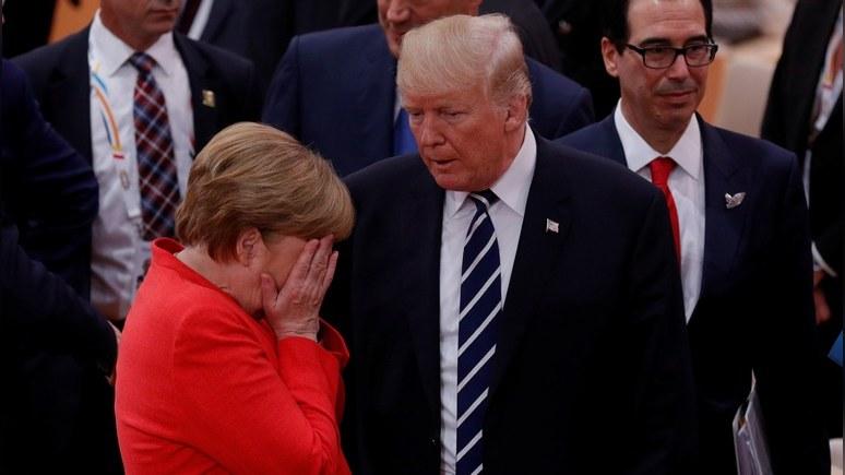 Reuters: Трамп для немцев — проблема посерьёзнее России