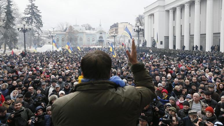СТРАНА.ua: Саакашвили на свободе продемонстрировал слабость украинской власти