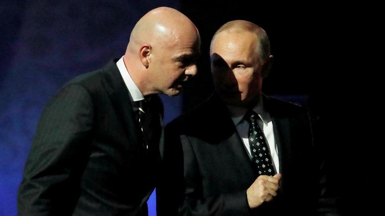 Berliner Morgenpost уличила ФИФА в аморальности и зависимости от Москвы