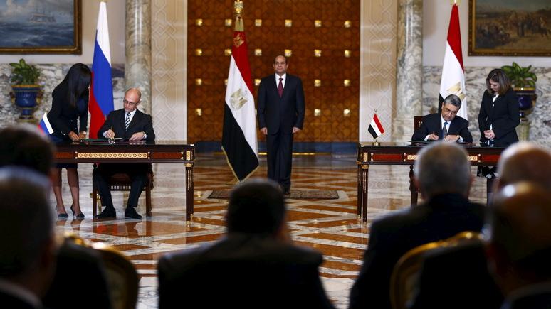 Bloomberg: строительство АЭС в Египте укрепит влияние России на Ближнем Востоке