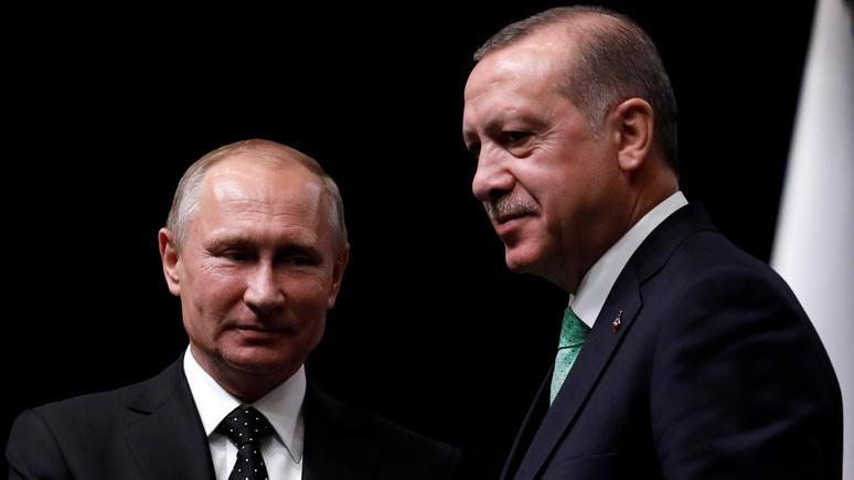 Global Times оценила, как долго продлится медовый месяц между Россией и Турцией