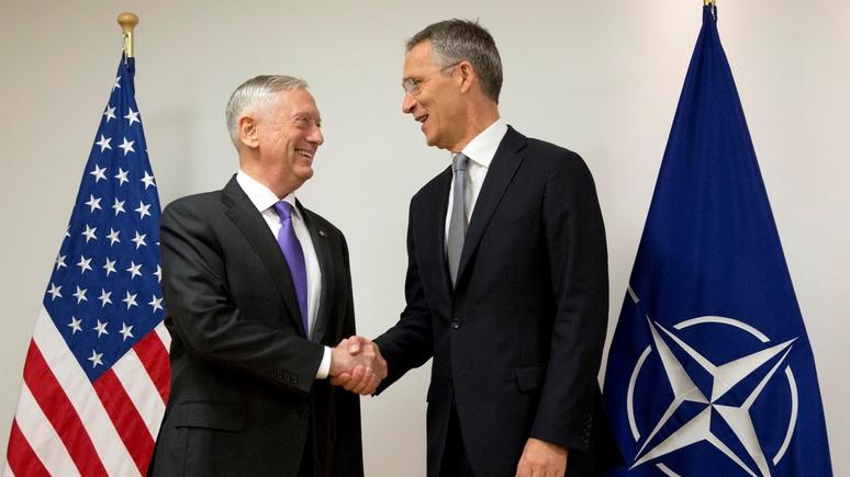 SZ: за недоверие к России в «чужом споре» НАТО заслужило похвалу от США