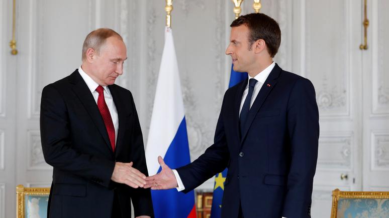 Les Echos: американские санкции не дают России и Франции «перевернуть страницу»