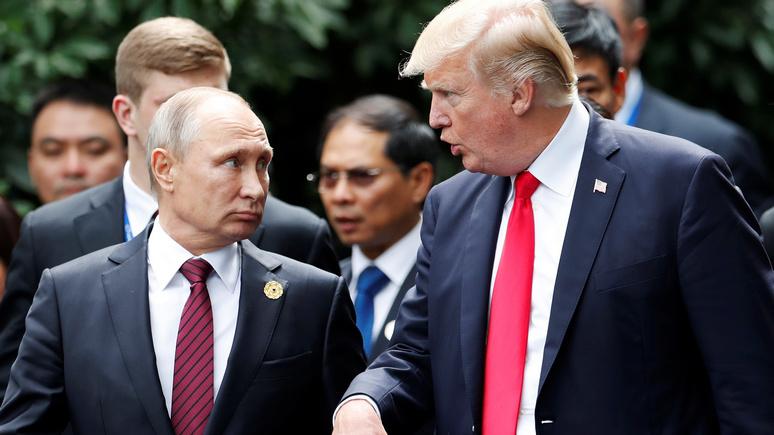 CNN: вопреки надеждам Трампа в 2018 году отношения Москвы и Вашингтона будут ещё хуже