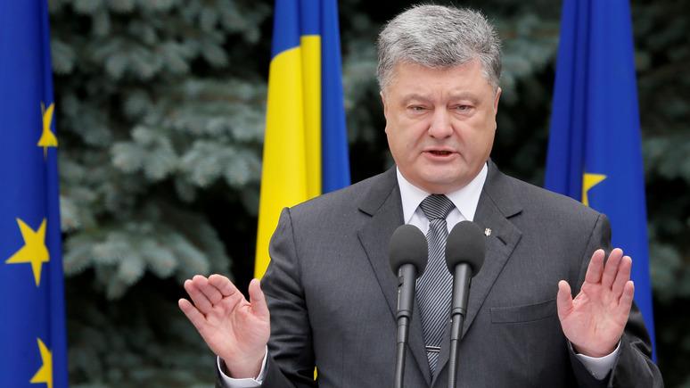 СТРАНА.ua: Порошенко рассказал дипломатам о подлости украинского режима