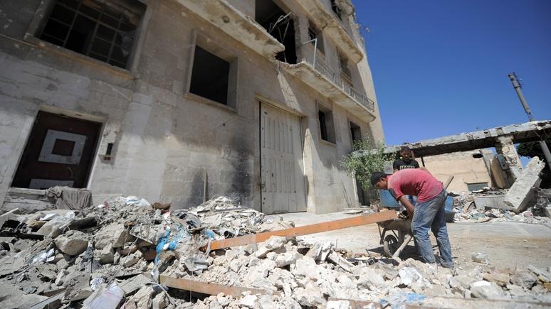 Сирийский политик: cанкционная блокада мешает возродить страну
